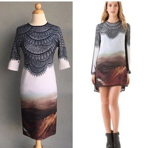 CLOVER CANYON Fitted Dress Size S/M